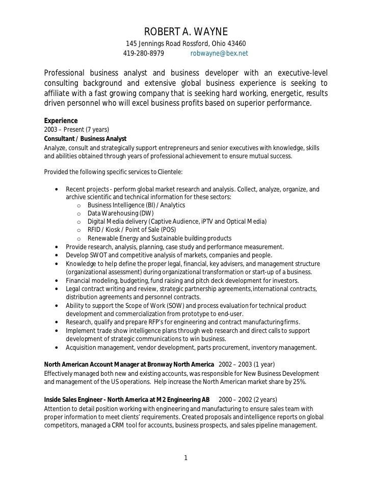 resume for finance manager