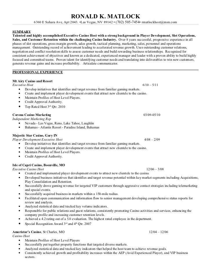 Vip Account Manager Job Description | Creating Resume Pdf Format