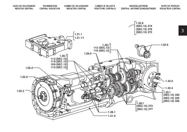 ford 2 0 Diagrama del motor