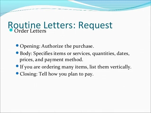 Request For Purchase Order Letter – Purchase Request Letter