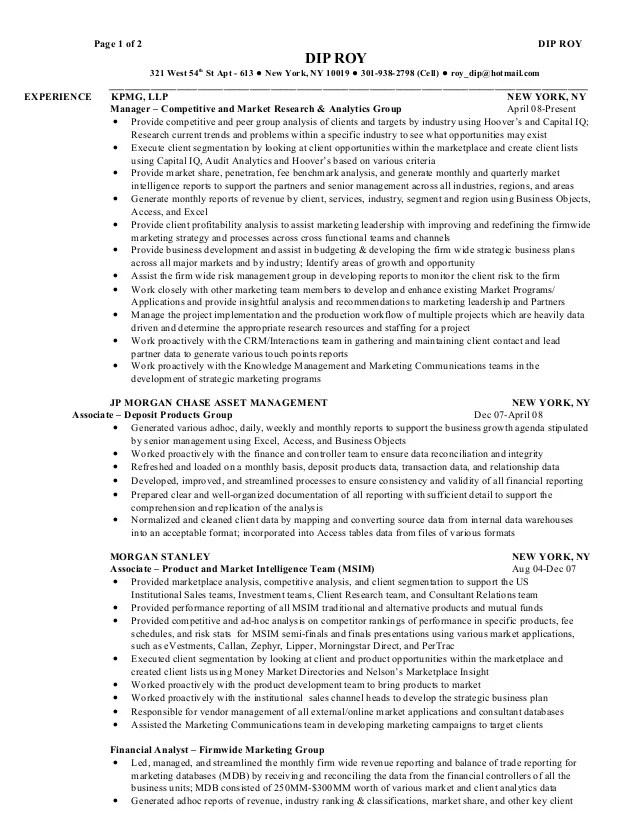 Derivatives Analyst Sample Resume Job Resume Financial Analyst - derivatives analyst sample resume