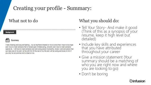 what should a professional summary on a resume say - Pinar