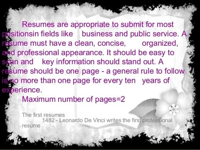 purpose of a resumes - Pinarkubkireklamowe