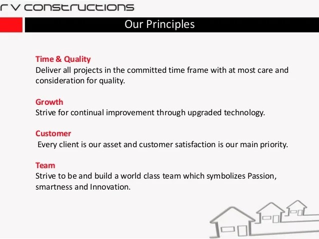 construction company profile sample format - Narcopenantly