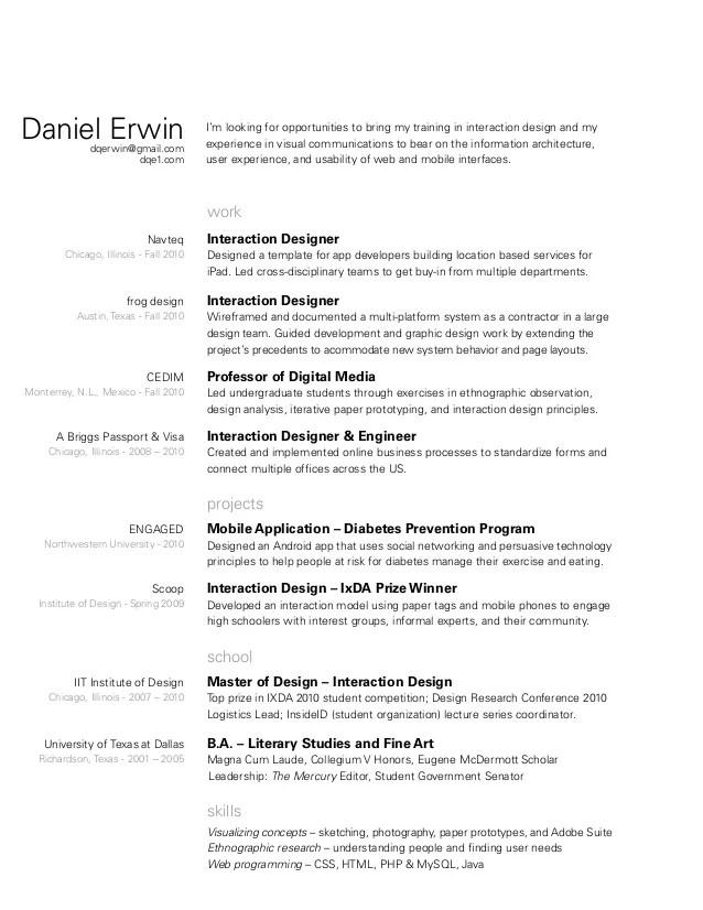 lead architect resume - Josemulinohouse