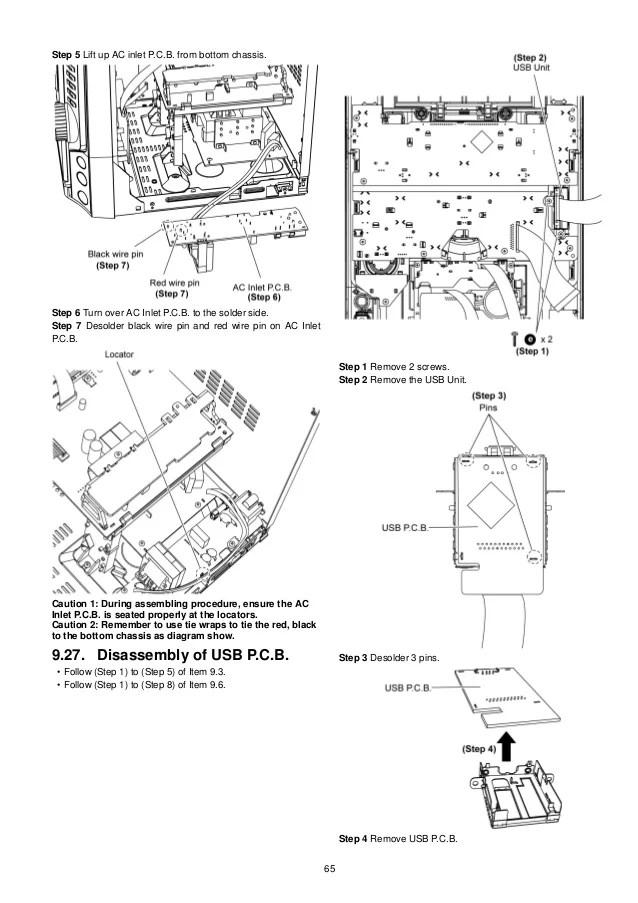 panasonic cd player wiring harness