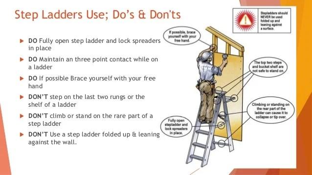 Safe Ladder Usage