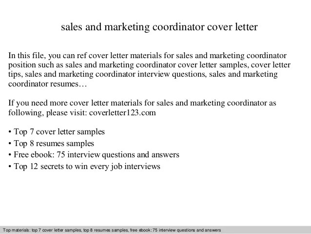 sales and marketing cover letter - Josemulinohouse - marketing cover letters