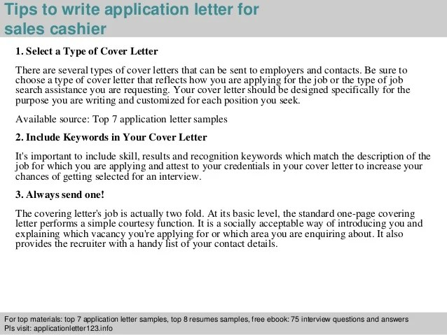 application for cashier - Minimfagency - cover letter for cashier