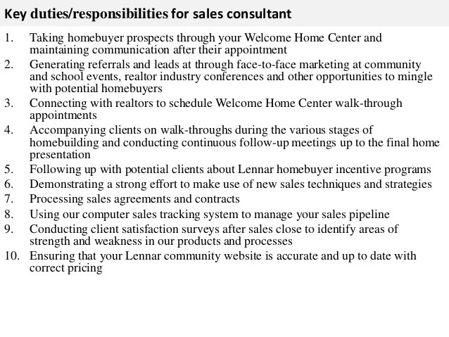 sales consultant job description - Ozilalmanoof - marketing consultant job description