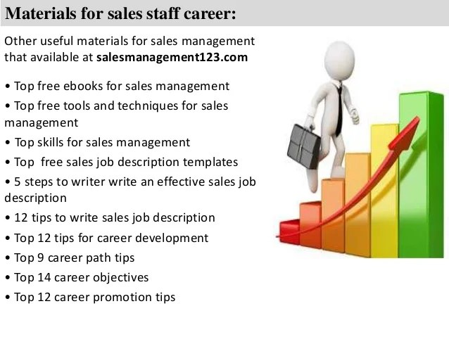 sales staff job description - Jolivibramusic - sales job description