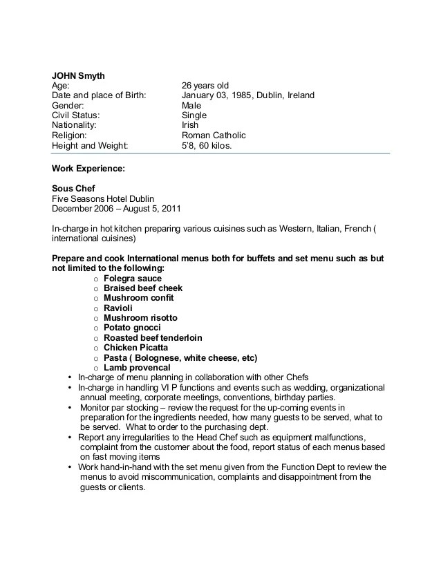 cover letter overseas job