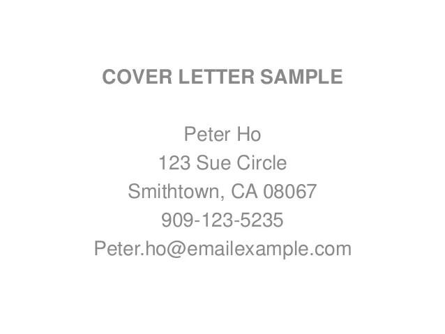 cover letter experience - Josemulinohouse - resumer cover letter