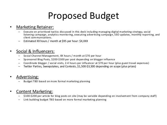 sample of advertising proposal - Selol-ink