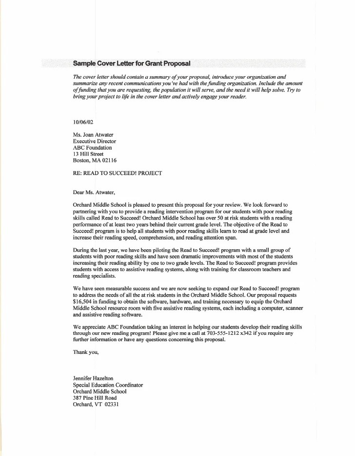 Non Profit Cover Letter Sample With Cover Letter Non Profit My