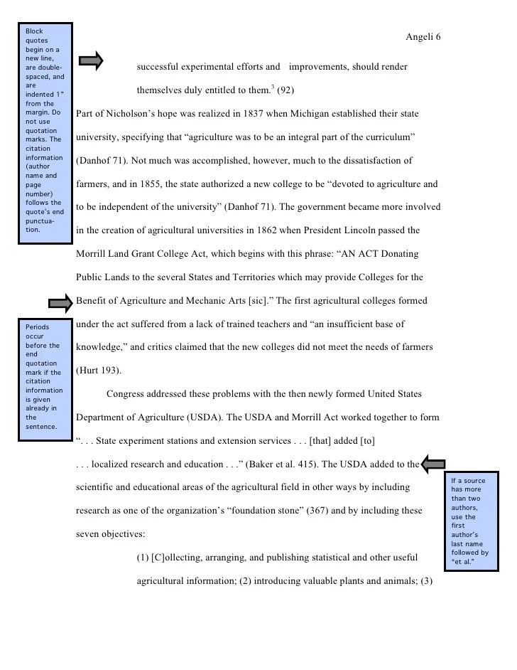 Purdue Owl Mla Research Paper Outline Example
