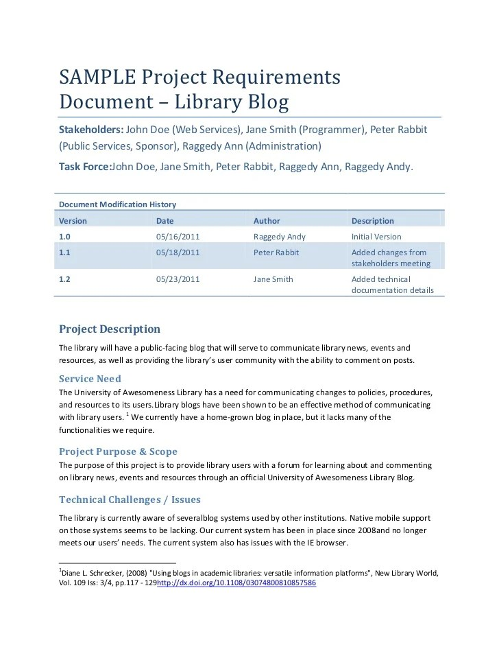 project requirements document - Goalgoodwinmetals - business requirement documents