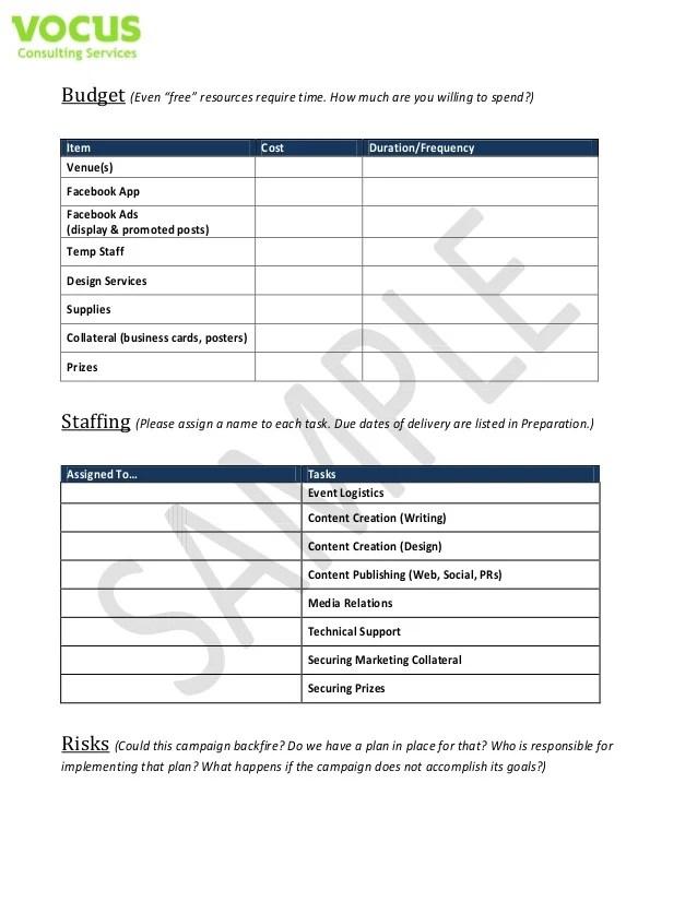 social media campaign templates - Roho4senses
