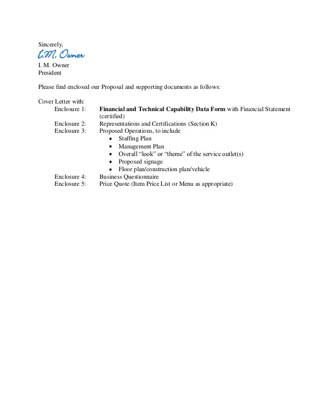 Outsourcing Business Proposal Letter Sample | Case Study ...