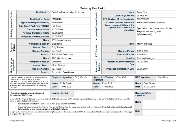 Training Assessment Plan Template | Online Theatre Resume Maker