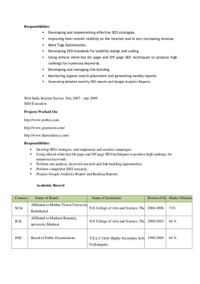 naukri resume writing review