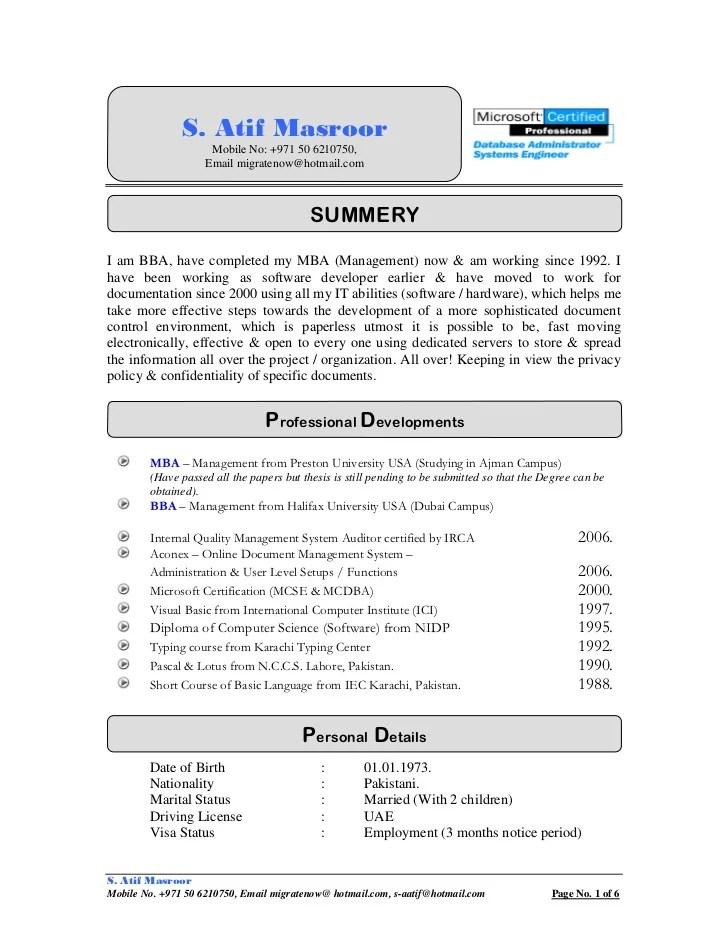sample cv for document controller - Jolivibramusic