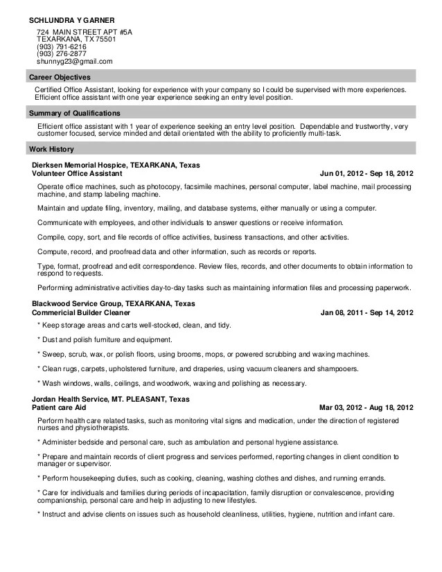 update resume in work in texas