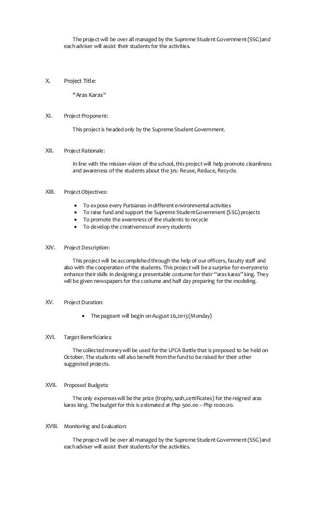 school project proposal template - Onwebioinnovate