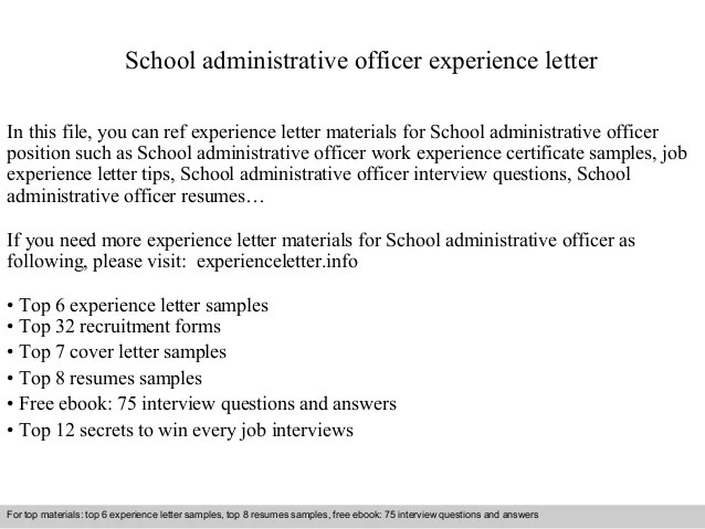 ☾ 37 School Administrator Resumeeducation administrator cover ...