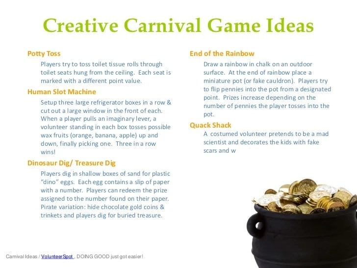 School Carnival Games Ideas Fabulously Fun