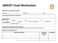 Pin Smart Goals Worksheet on Pinterest