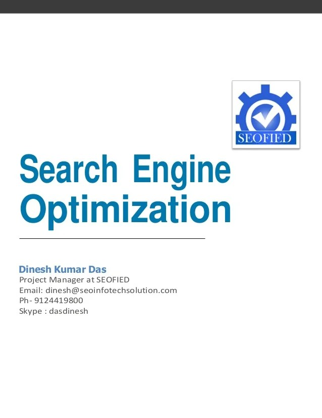 search engine optimization on resume