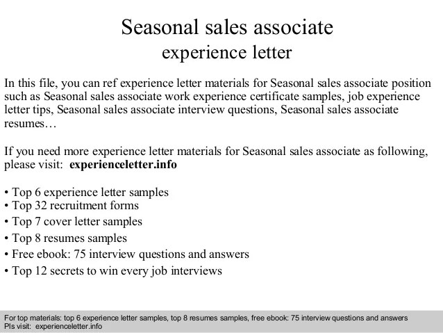 sales associate cover letter no experience