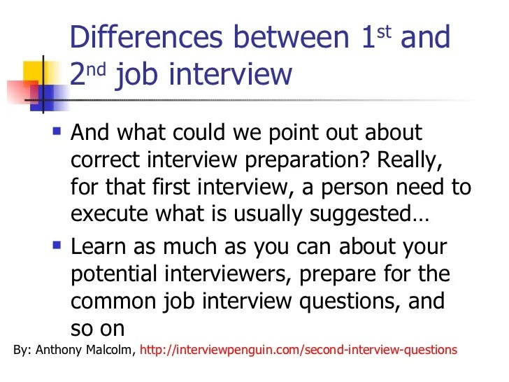 how to prepare for a 2nd interview - Koranayodhya