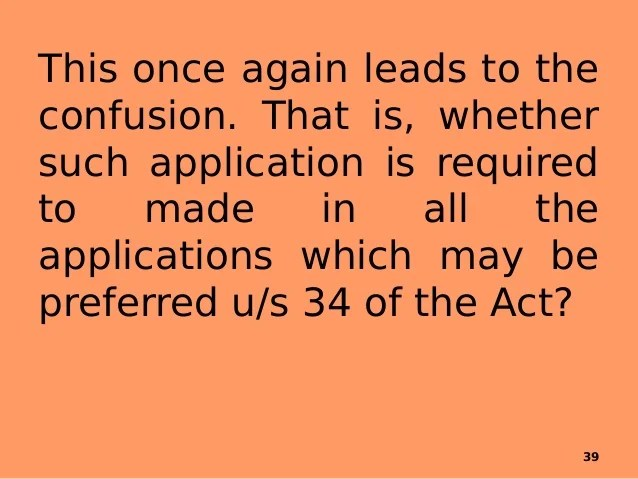 Section 34 Of The Arbitration And Conciliation Act - Paragraph 34