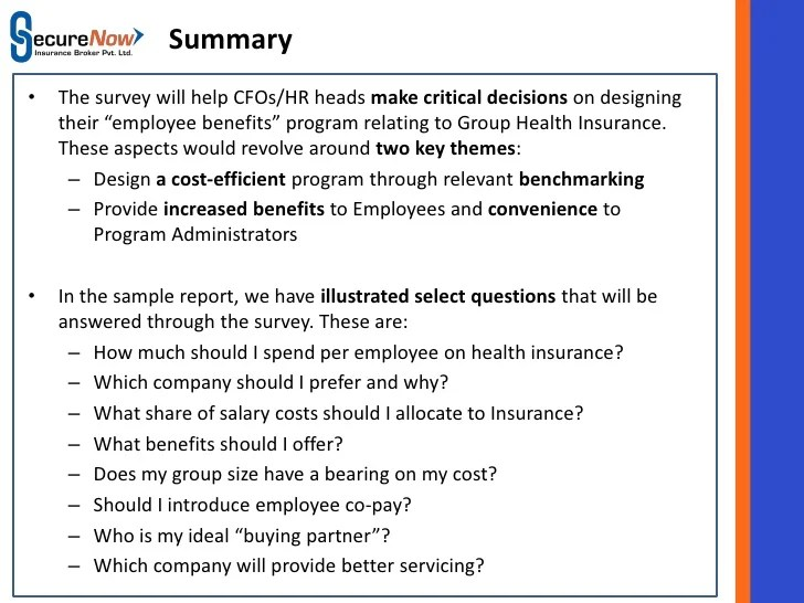 employee benefits surveys - Apmayssconstruction