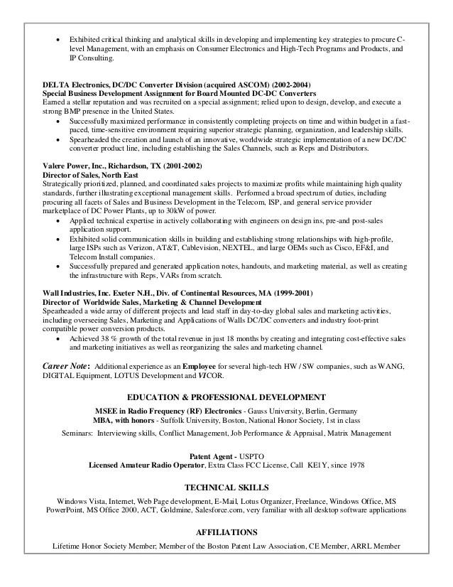 resume consultant dc