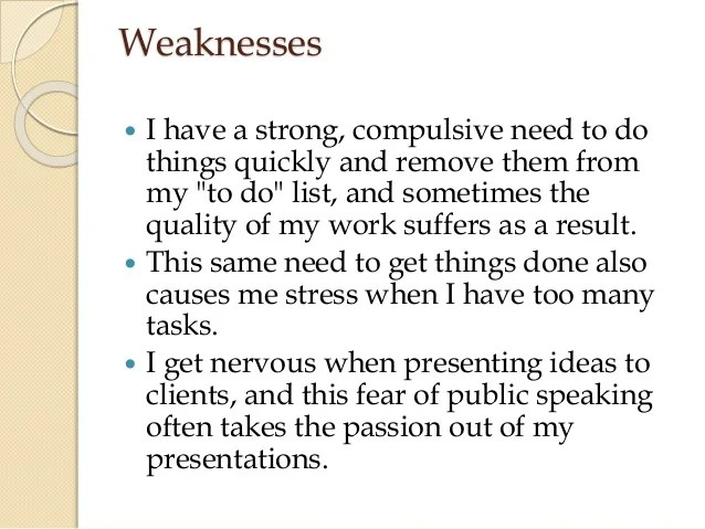 list of employee strengths and weaknesses - zaxa
