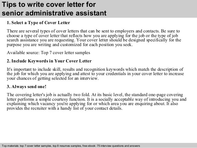 administrative cover letters - Brucebrianwilliams