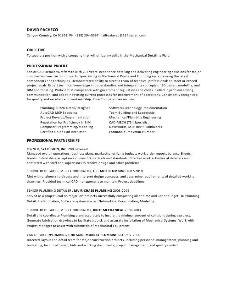 Car Detailer Resume Objective. Cv Ehtisham Tekla Steel Detailer .