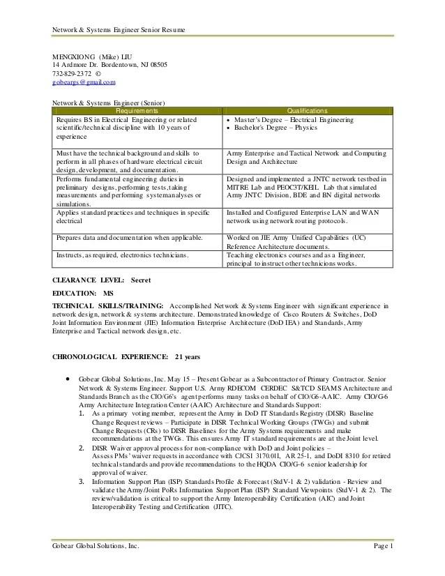 senior network engineer resumes - Kordurmoorddiner