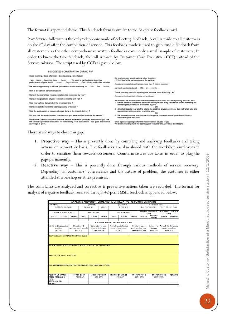 sample customer satisfaction letter