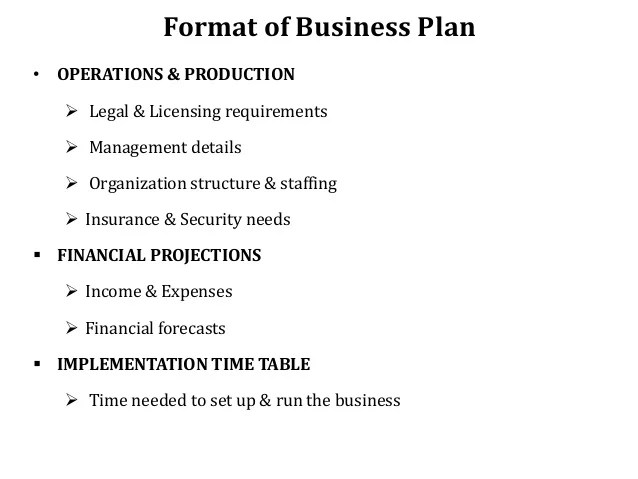 Business Plan Template Entrepreneur Costumepartyrun