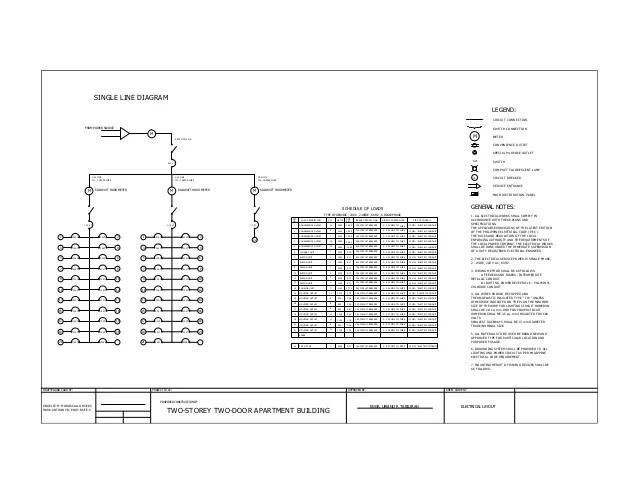 single switch diagram