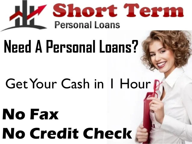 Short Term Personal Loans- Get Small Personal Assistance with Ease