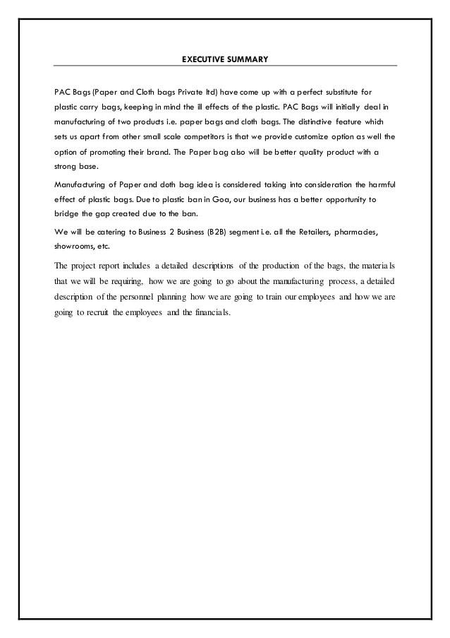 apa executive summary template - Pinarkubkireklamowe