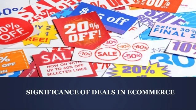 Role of Deals in Ecommerce