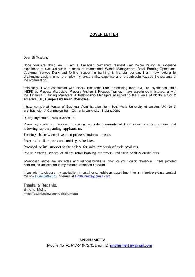 resume application hsbc