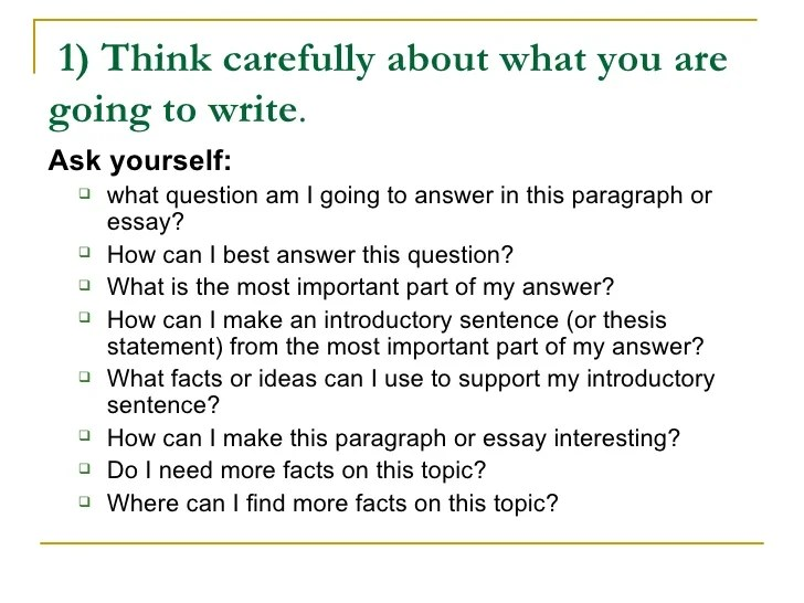 write essay about yourself examples