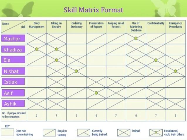 employee skills matrix template excel - Canasbergdorfbib